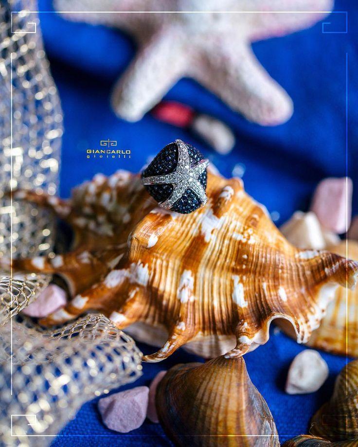 Кольцо украшенное бриллиантами и сапфиром станет отличным подарком для любимой женщины на 8 марта. Ведь бриллианты символизируют вечную любовь а сапфир  камень верности!  #jewellery #rings  #giancarlogioielli #diamonds #beauty #women #vscogood #vscobaku #vscocam #vscobaku #vscoazerbaijan #instadaily #bakupeople #bakulife #instabaku #instaaz #azeripeople #aztagram #Baku #Azerbaijan