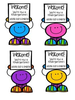 Smarty Pants! (Student Welcome Notes)
