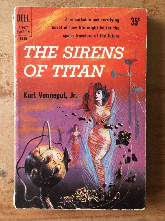 The Sirens of Titan by Kurt Vonnegut Jr. by MilkweedManorCrafts