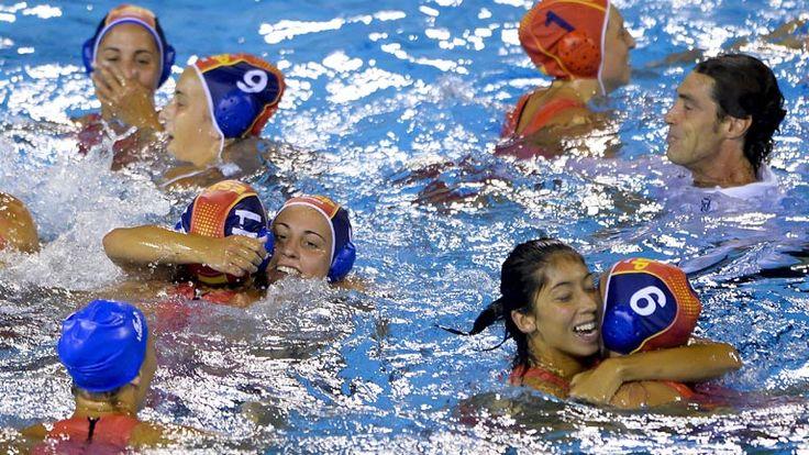 Chicas de Oro - Mundial Barcelona 2013 - Esp-Aus (Final)
