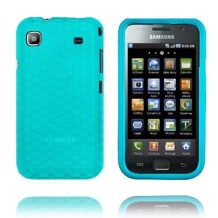 Cubes (Blå) Samsung i9003 Galaxy SL-Skydd