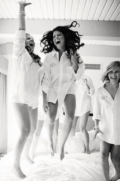 Must with the bridesmaids