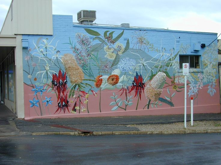 Native plant frieze, Prospect Road, SA. ©M.Jusaitis