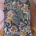 различные тонкие вискозные нитки в т.ч и для машинной вышивки. толстая вискоза с люрексом...чуть фриволите и ткачества. 5 месяцев работы