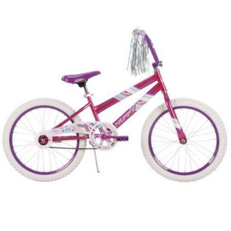 20 inch Huffy Girls' Sea Star Bike, Pink, Multicolor