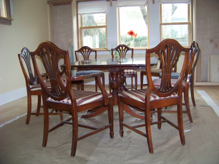 Duncan Phyfe And Hepplewhite. Refurbished FurnitureAntique FurniturePainted FurnitureDuncan  PhyfeDining Room ...