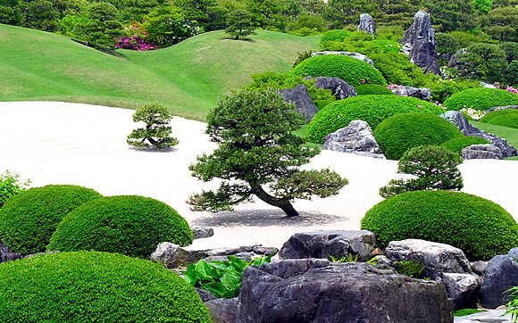 Buddhist Ceremony Traditional Japanese Garden: Gardens, Moss Garden And Landscapes