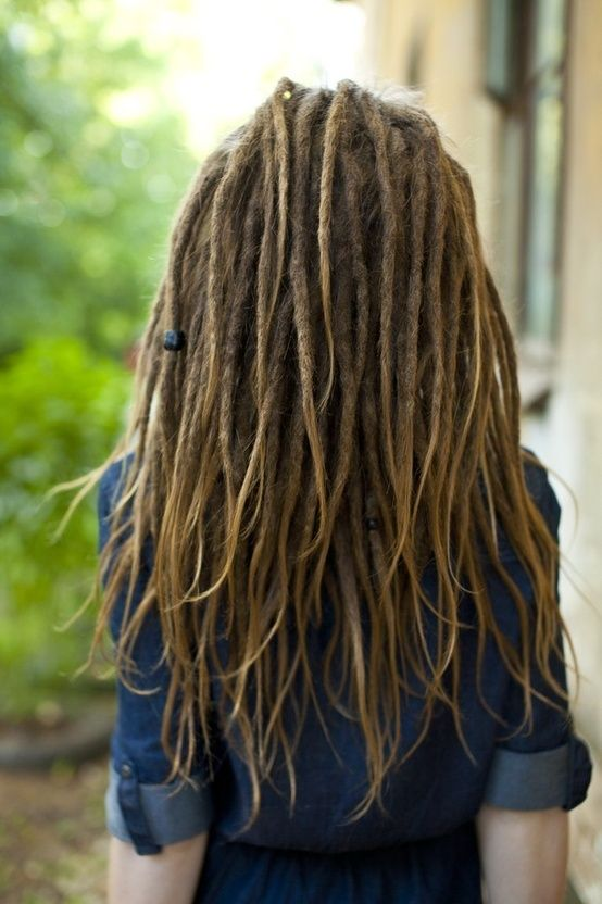 THIS is what I want. Skinny dreads with loose ends and I will likely leave bangs undreaded too. These are beautiful!!