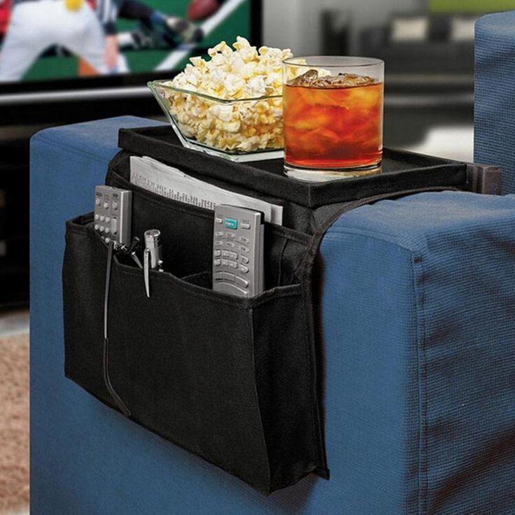1 ST Sofa Leuning Couch Arm Rest Organizer Afstandsbediening Houder Zak Home Decor Schoonmaken Space Saver Hoge Kwaliteit 31.5x56 cm(China (Mainland))