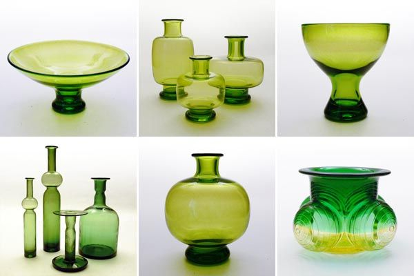 1950s Scandinavian Glasscollection