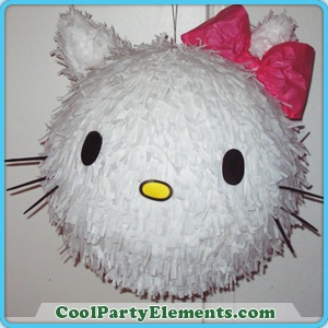 Hello Kitty Pinata nice round for Lola's next party!