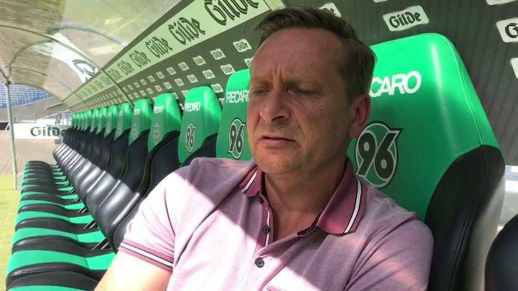 Horst Heldt schlägt nach dem Bundesliga-Aufstieg selbstbewusste Töne an. Zwar steht zunächst der Klassenerhalt im Fokus, in den nächsten Jahren hält er mit Hannover 96 aber das internationale Geschäft für möglich.