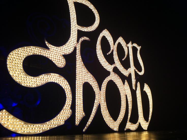Holly Madison's peep show