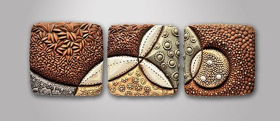 Perigee: Christopher Gryder: Ceramic Wall Art - Artful Home