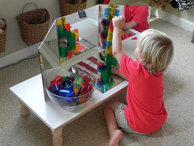 Mirror Explorations {from Play At Home Mom}