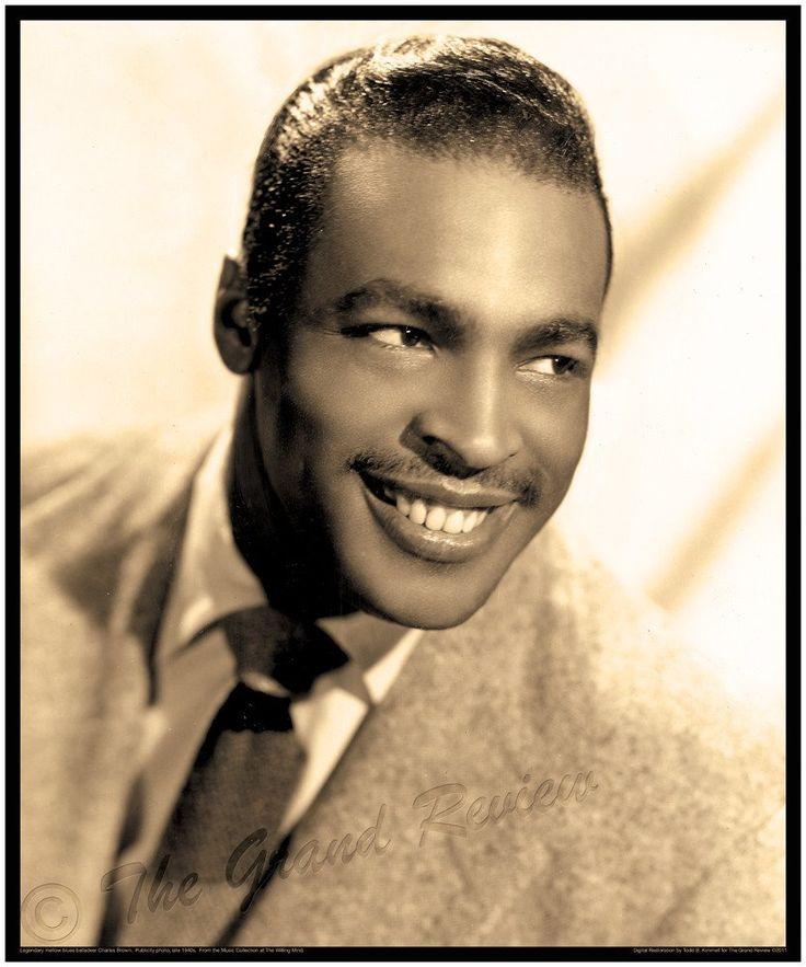 Vintage Blues Print - Legendary Blues Singer Charles Brown - Late 1940s Los Angeles Style
