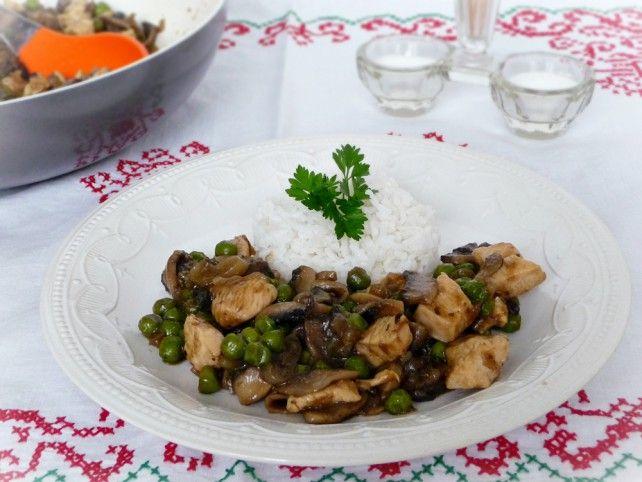 Szecsuáni gombás sült csirkemell Recept képpel - Mindmegette.hu - Receptek