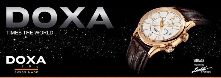 najnowszy #projekt #banera reklamującego markę zegarków doxa