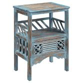 Found it at Wayfair - Distressed End Table