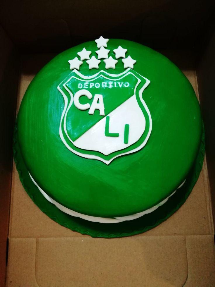 Torta deportivo Cali...Probando con nuestros equipos de fútbol colombianos ..
