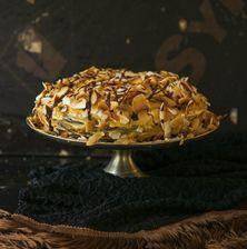 Έχετε σκεφτεί ποτέ να ενώσετε δύο κέικ; Ένα με μαύρη ζάχαρη και ένα σοκολάτας; Να τα περιχύσετε με ένα γλάσο καραμέλας και να τα πασπαλίσετε με νιφάδες καρύδας; Το αποτέλεσμα είναι απίστευτό! Δοκιμάστε το!