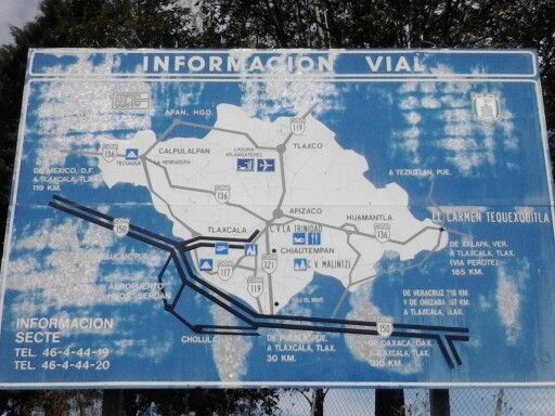Visita a Gran plaza altoplano Tlaxcala.