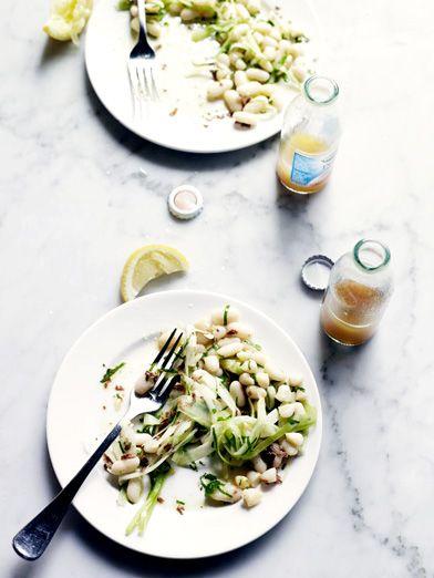 white bean salad // John Laurie