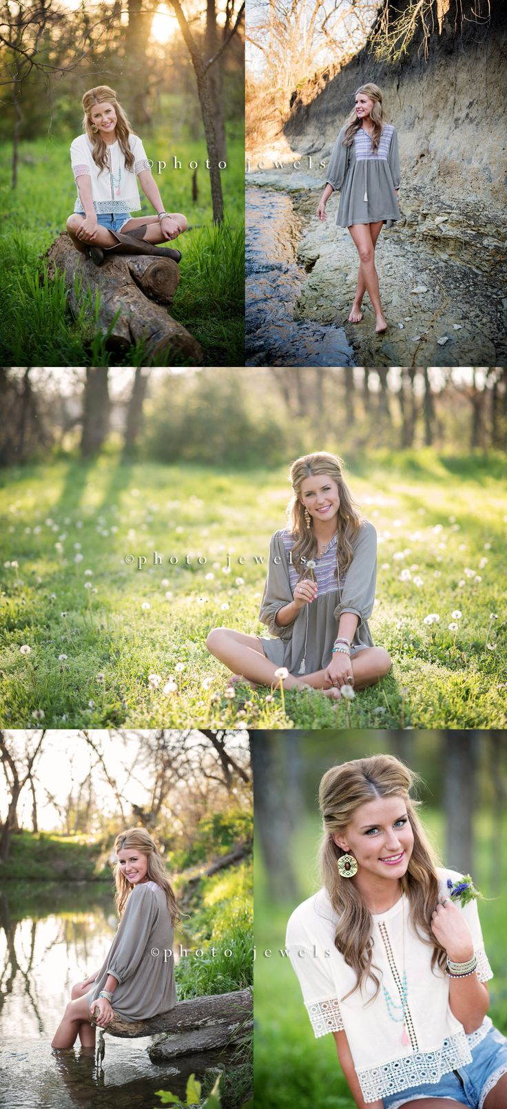senior, senior girl, senior pictures, senior year, photo jewels, rockwall senior photographer, senior girl water, creek