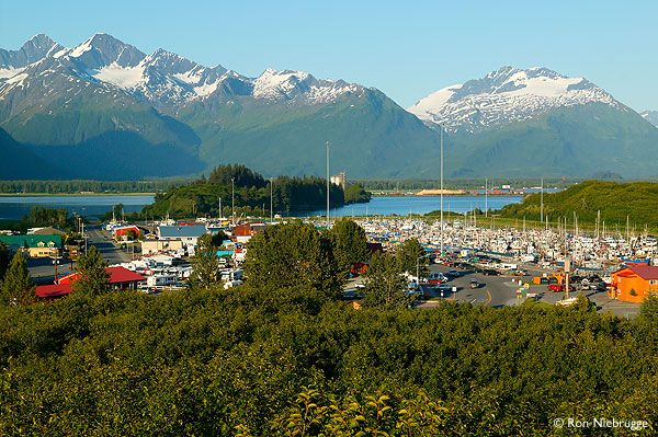 Valdez, Alaska is famous as the southern terminus of the Trans-Alaska pipeline. But the town s a great recreational area and is just drop dead gorgeous