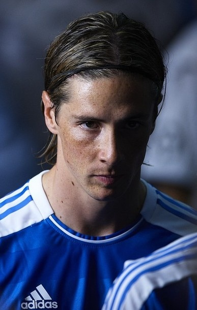Nando! Concentrating for the big game!