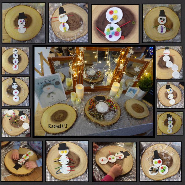 "Transient Art Snowmen - from Rachel ("",)"