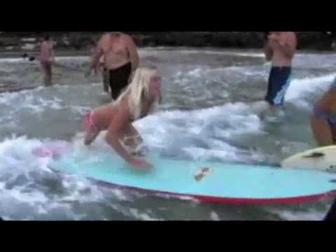 Bethany Hamilton: Shark Attack--The Real Story    Such an inspirational story. Three week for her accident she was back in the water doing what she loves, surfing.