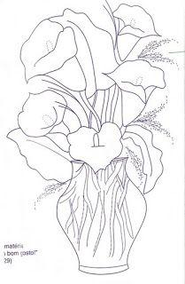Art Sanalia Risco Flores Pintar En Tela Esbozar Dibujos Dibujos