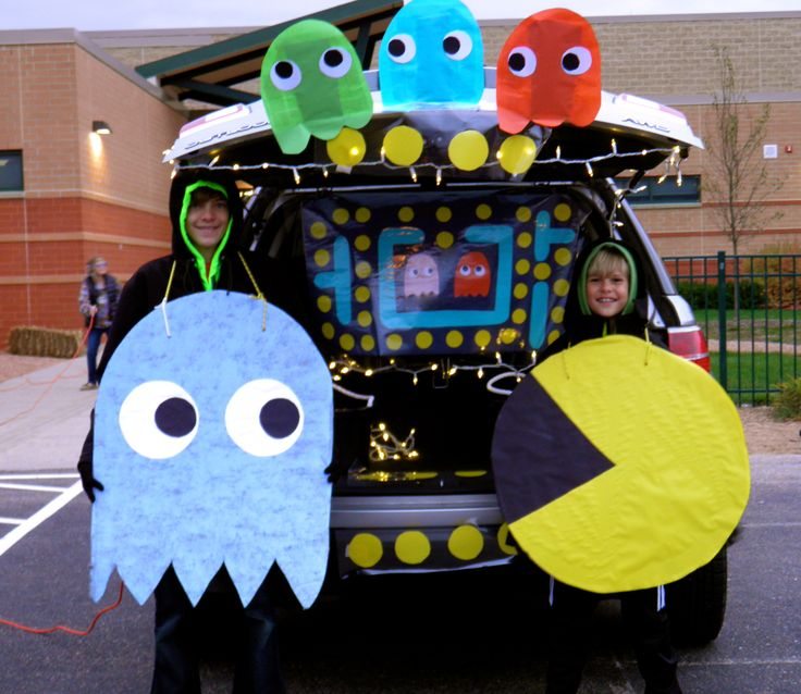 48 best Trunk or Treat images on Pinterest Trunk or treat - trunk halloween decorating ideas