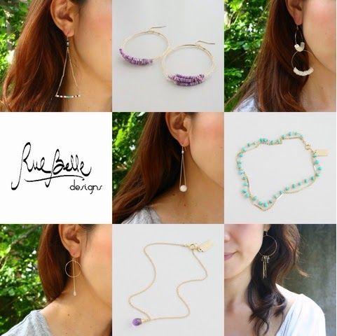 blog@fabCouture.com: ●夏はやっぱりRueBelle Designs ! 【RueBelle Designs/ルーベルデザ...