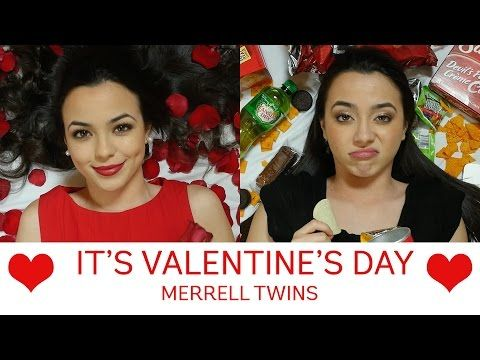 NO THUMBS CHALLENGE - Merrell Twins - YouTube Please subscribe to the Merrel Twins to watch funny videos like the no thumbs and Valentine's Day, A hilarious sketch about bad cops and also MT news which is also very funny. Please subscribe guys.