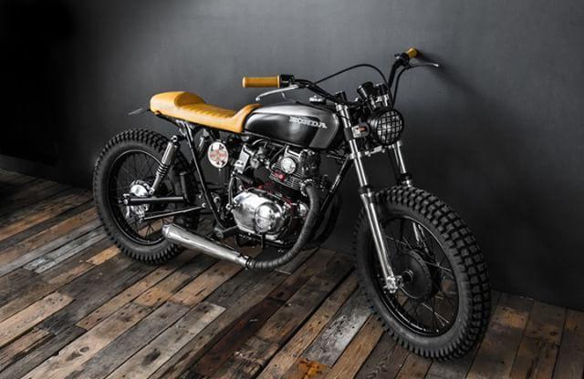 Honda CB125 Street Tracker by Ed Turner Motorcycles #motorcycles #streettracker #motos | caferacerpasion.com