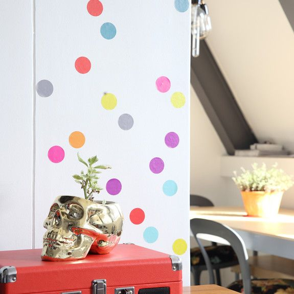 Superbalist Wall Decals - Multi Dot Wall Decal Set of 24