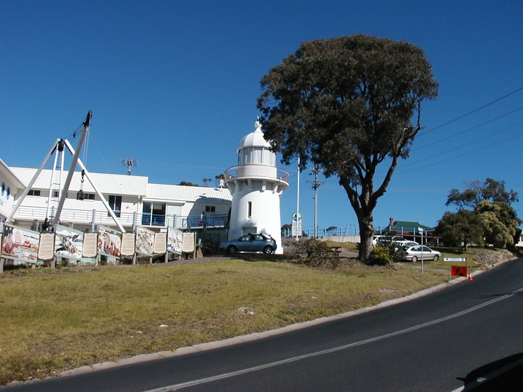 Lighthouse at Eden, NSW South Coast : Killer Whale Museum