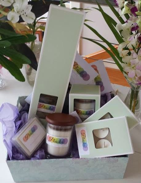 Phaska Candles: Blessed with Reiki Energy. Giveaway article for Think #Tasmania.