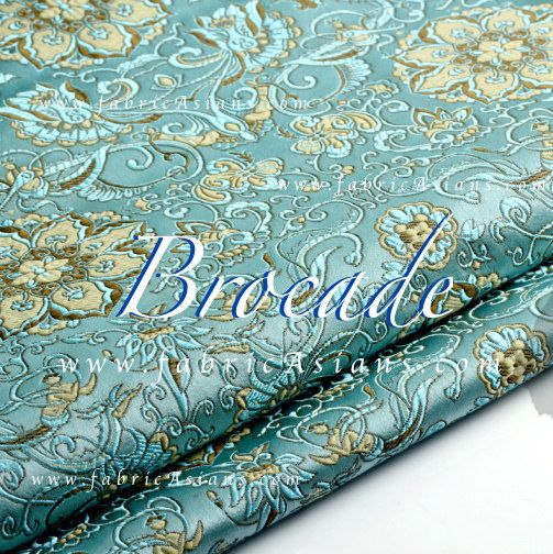Must have item for your quilting project. Chinese brocade by fabricAsians on Etsy