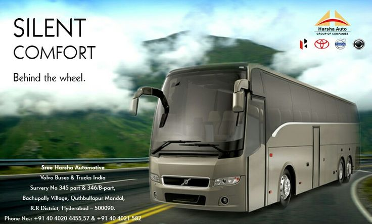 Introducing performance inspired buses from volvo, Where luxury meets comfort and performance.