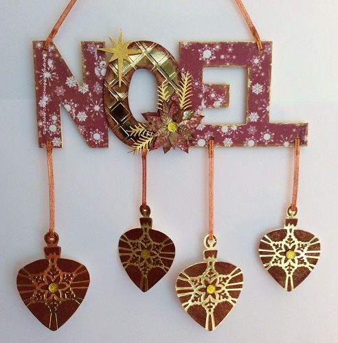 MDF with Rice Paper, Starlights & Sparkle Medium. Products available at imaginationcrafts.co.uk
