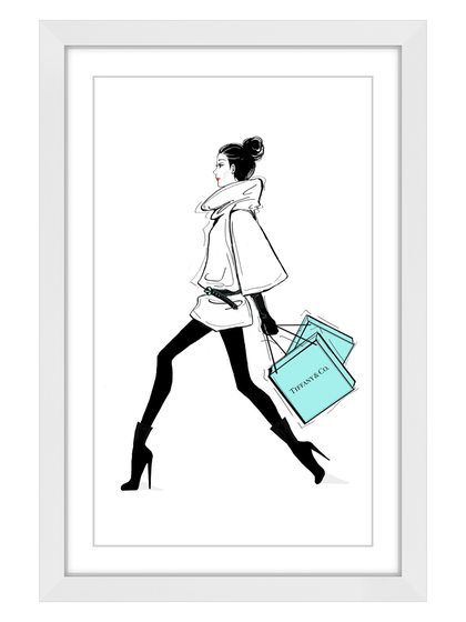 Always on the Go (Framed Giclee) by Marmont Hill at Gilt