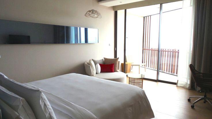 King Room at the Hilton Pattaya Hotel, Thailand