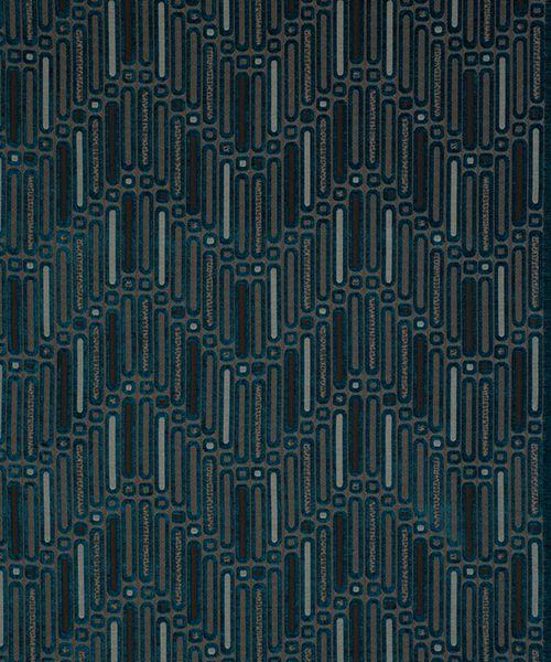 Q Hermes 21 Teal Curtains