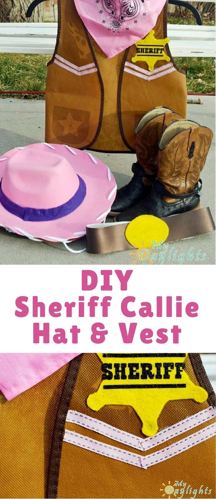Sheriff Callie is one of our favorite cartoons! My toddler loves it. He prefers dressing up like Peck, rather than Sheriff Callie, but I know if we had a girl she would be all game for dressing up like the infamous kitty sheriff!