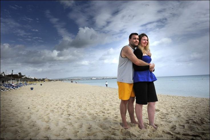 Her får du stranden og solsengene for deg selv