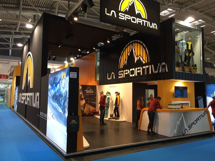 La Sportiva stand at ISPO 2017, discover the brand new products of the FW collection 2017/2018!