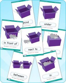 FREE preposition flashcards!